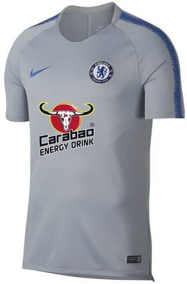 Nike Breathe Chelsea FC Squad Men's Short-Sleeve Football Top