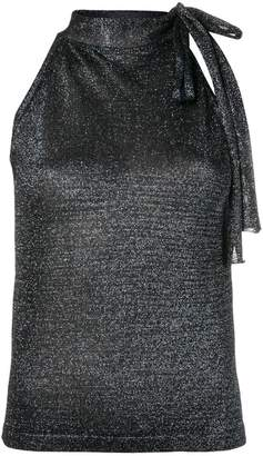 Missoni sleeveless lurex top
