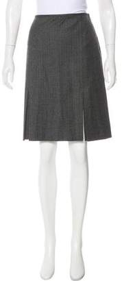 Blugirl Knee-Length Wool Skirt