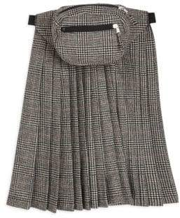 R 13 Pleated Skirt Panel Fanny Pack
