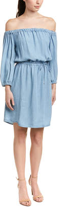 Splendid Off-The-Shoulder Shift Dress