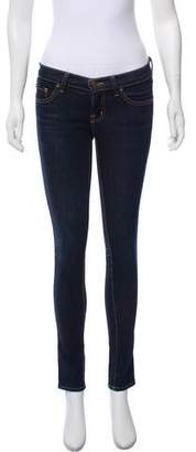 J Brand Low-Rise 910 Ink Skinny Jeans