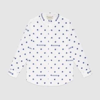 Gucci Children's star fil coupe shirt