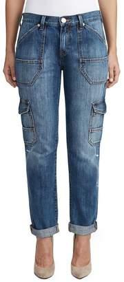 True Religion Cameron Utility Boyfriend Fit Jeans