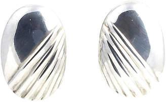One Kings Lane Vintage Mexican Sterling Earrings - Owl's Roost Antiques