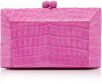 Nancy Gonzalez Crocodile Box Clutch