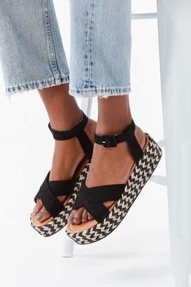 Urban Outfitters Cora Flatform Espadrille Sandal