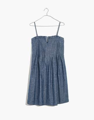 Madewell Denim Pintuck Cami Dress