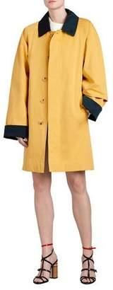 Burberry Waxed Cotton Gabardine Coat