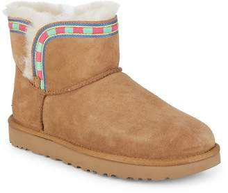 UGG Women's Rosemaria Embroidered Stripe Boots