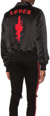 Amiri Silk Dagger Band Jacket
