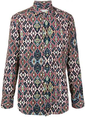 Etro carpet-print shirt