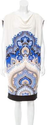 Leonard Shift Abstract Dress