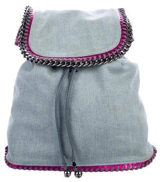 Stella McCartney Falabella Denim Backpack