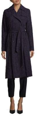 Hobbs Great Vine Lace Cotton Coat