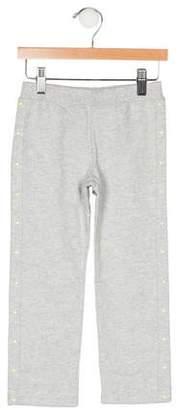 Armani Junior Girls' Studded Straight-Leg Sweatpants w/ Tags
