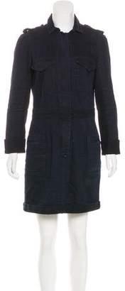 Isabel Marant Long Sleeve Denim Dress