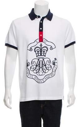 Etro Graphic Print Polo Shirt w/ Tags