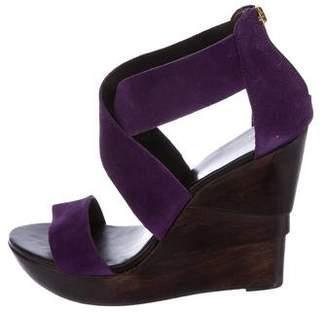Diane von Furstenberg Opal Platform Wedge Sandals w/ Tags