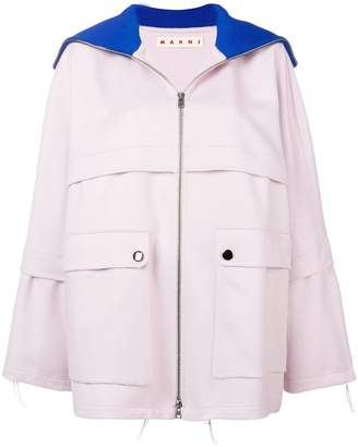 Marni relaxed fit coat