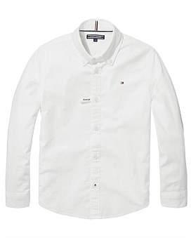 Tommy Hilfiger Ame Stretch Oxford Shirt L/S (Boys 8-14 Years)