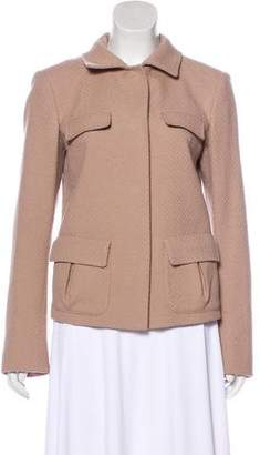 Fendi Wool Long Sleeve Jacket