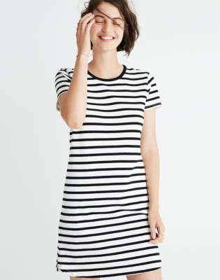 Madewell Striped Ringer Tee Dress