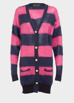 Versace Striped Oversized Sweater