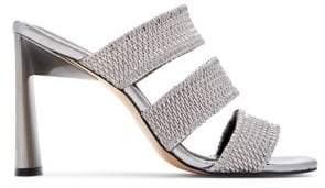 Katy Perry Cali Metallic Block Heel Sandals