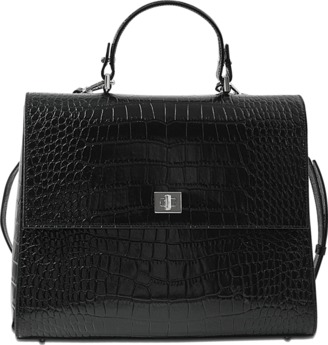 Hugo Boss Bespoke CS M Top Handle bag $1,419 thestylecure.com