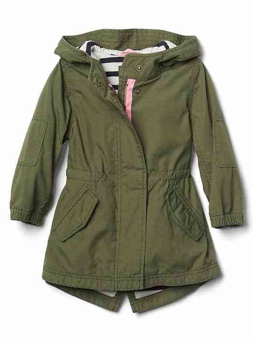 Gap Jersey-lined parka