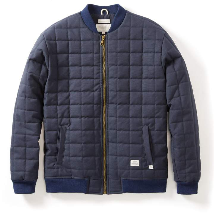 Peregrine - Quilted Bomber Navy