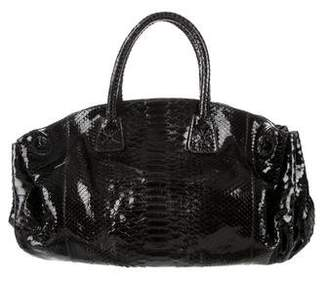 Carlos Falchi Python Handle Bag