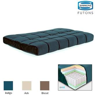 """Simmons Futons Simmons Beautyrest 8"""" Pannel Quilted Pocketed Coil Futon Mattress"""