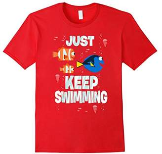 Disney Pixar Finding Dory Just Keep Swimming T-Shirt C1