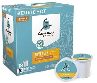 Keurig Caribou Coffee Daybreak Morning Blend Light Roast Coffee K-Cup Pods - 18ct