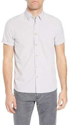 Ted Baker Goggles Short Sleeve Slim Fit Shirt