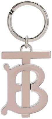 Burberry Tb Logo Charm Key Holder