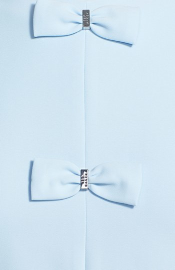 Ted Baker Bow Detail Stretch A-Line Dress