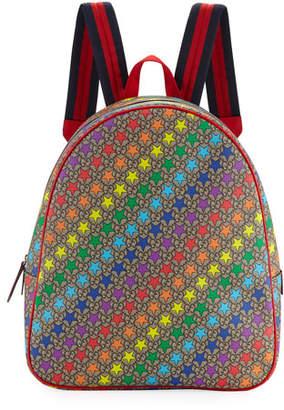 a533f3e7732a Gucci Kids' Colorful Stargirl GG Supreme Backpack