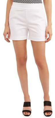 Time and Tru Women's Pull-On Shorts