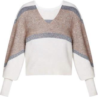 Veronica Beard Miley V-Neck Sweater