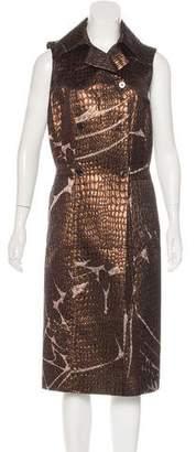Emilio Pucci Silk-Blend Brocade Dress