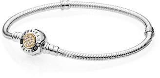 Pandora Bracelet Moments 590741CZ-18 Women Two Tone
