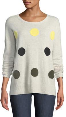8177346dac1 LISA TODD Petite Classic Hot Spots Cashmere Sweater