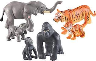 Learning Resources Jumbo Jungle Animals: Mommasand Babies