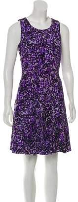 Diane von Furstenberg Sleeveless Abstract-Printed Dress