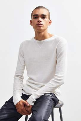 Urban Outfitters Waffle Foundation Thermal Long Sleeve Tee