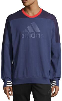 adidas Badge Of Sport Long Sleeve Sweatshirt Athletic