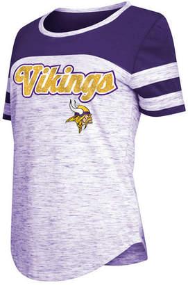 5th & Ocean Women Minnesota Vikings Space Dye T-Shirt